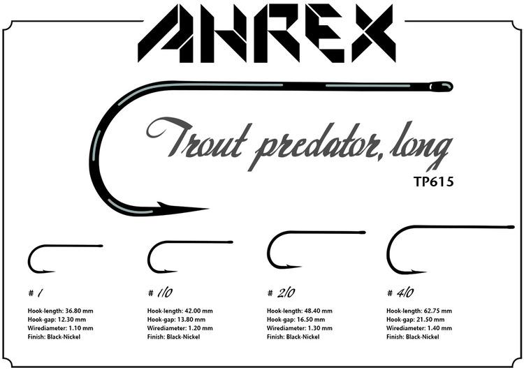 Ahrex TP615 - Trout Predator Streamer Long