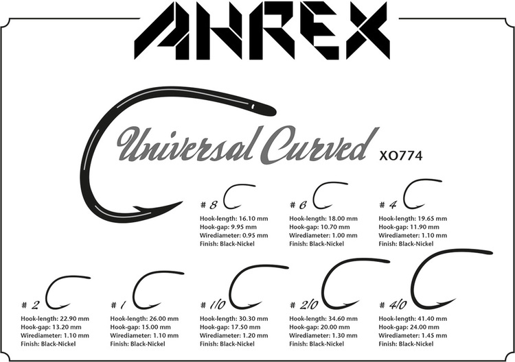 Ahrex XO774 - Universal Curved