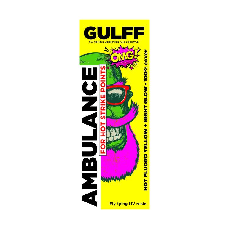 GULFF UV Resin - Ambulance Yellow