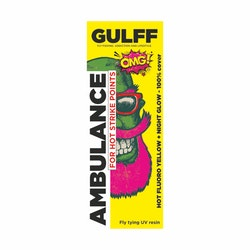 GULFF UV Resin - Ambulance Yellow