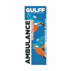 GULFF UV Resin - Ambulance Hot Kingfisher Blue