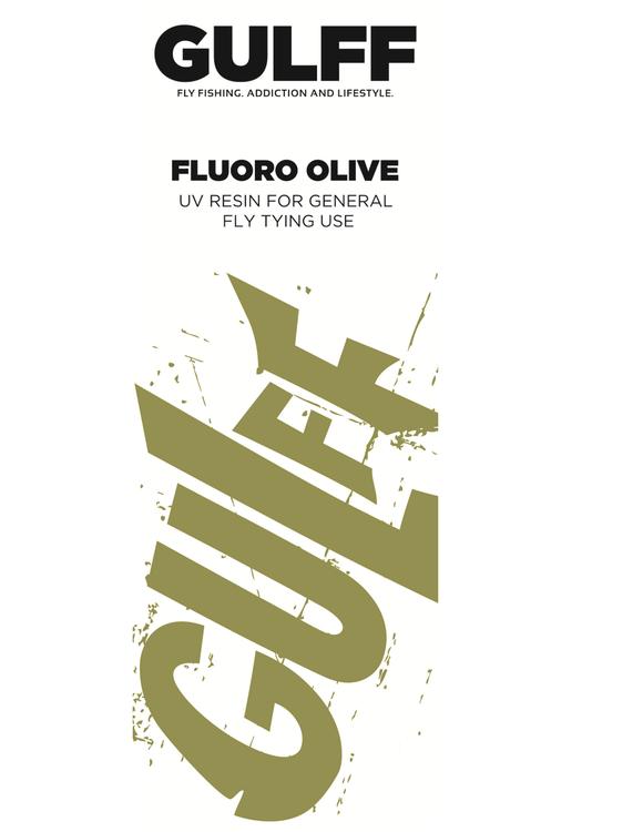 GULFF UV Resin - FL. Olive