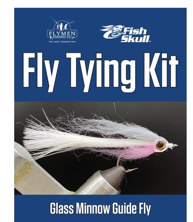 Bindkit Fish-Skull Glass Minnow Guide Fly