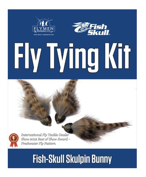 Fly Tying Kit: Fish-Skull Skulpin Bunny