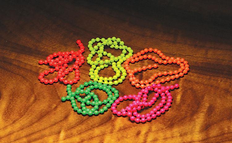 Flourescent Bead Chains #Medium
