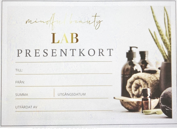 Presentkort - Aromamassage