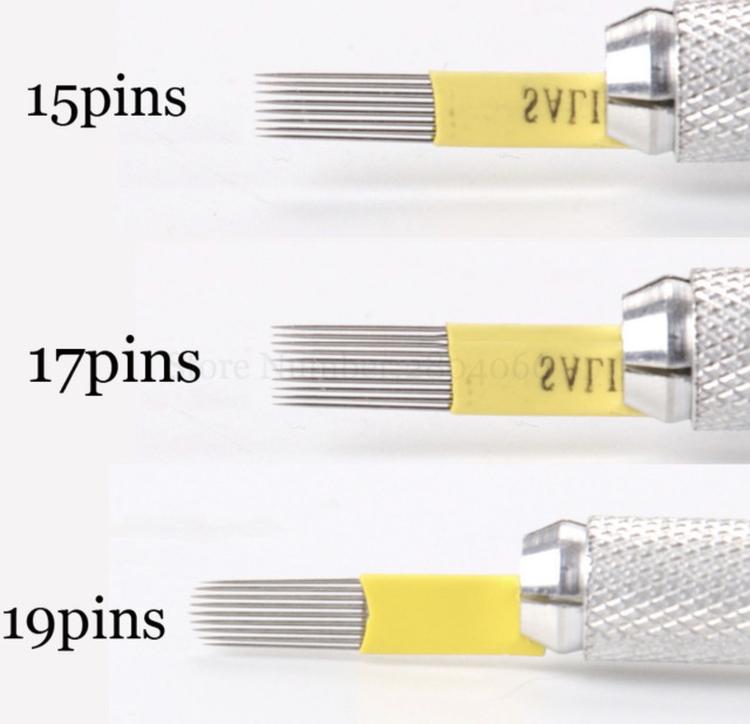 Microshading - round magnum 19 pins - flexi