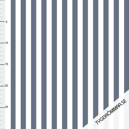 Vertical Lines - Blue