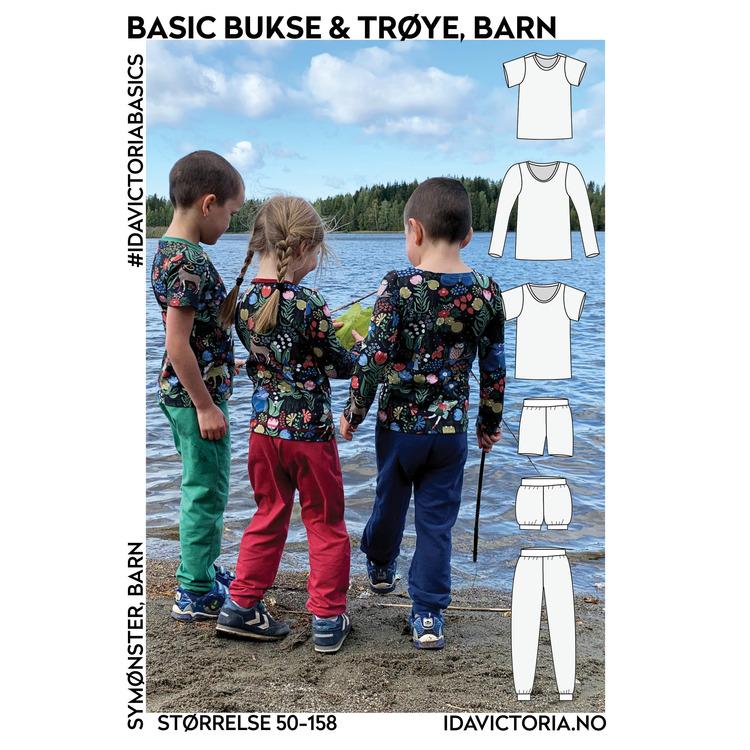 Basic bukse og trøye - Barn