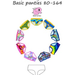 Basic Panties - Barn