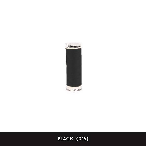 Gütermann 200 m - Black