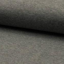 Rundstrikket Ribb - Grey Melange