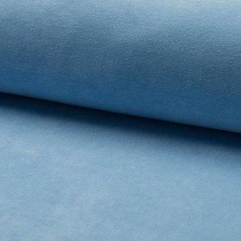 Bomullsvelour - Light Blue