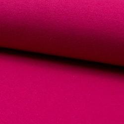 Rundstrikket Ribb - Fuchsia