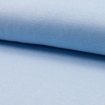 Rundstrikket Ribb - Light Blue