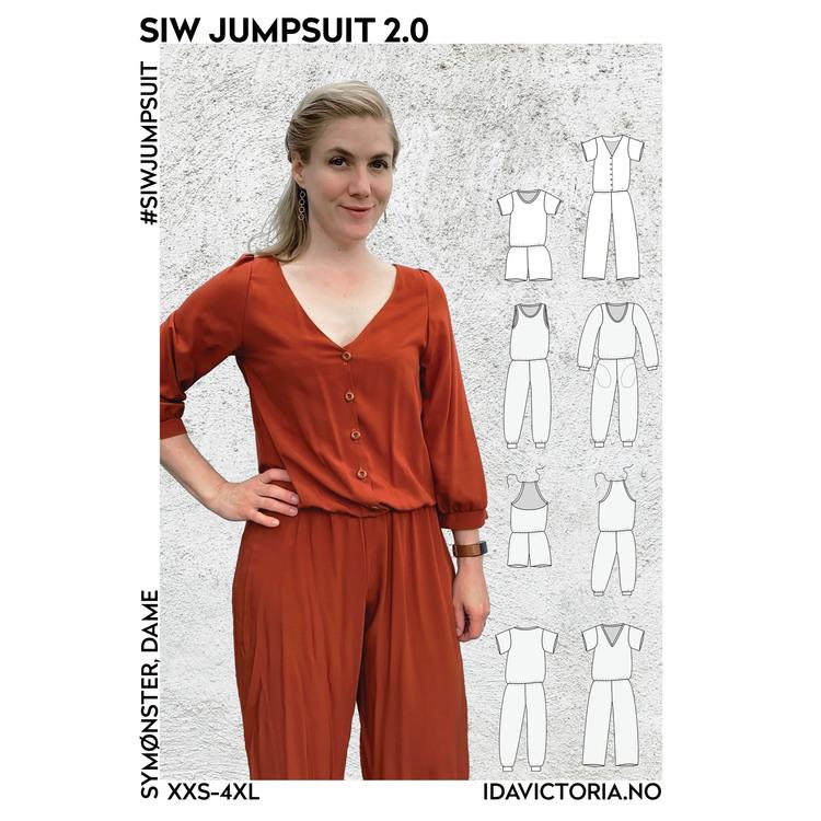 Siw Jumpsuit - Voksen