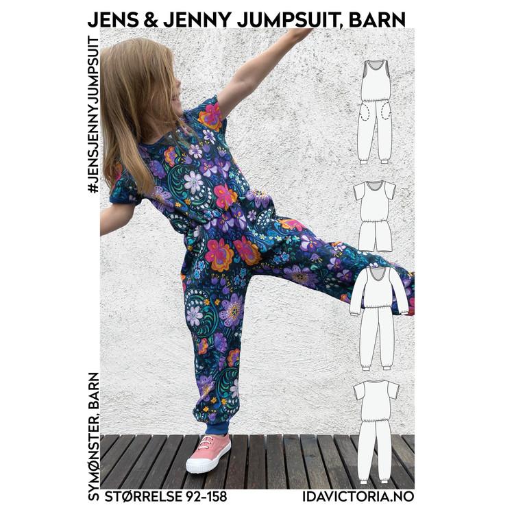 Jens & Jenny Jumpsuit -Barn