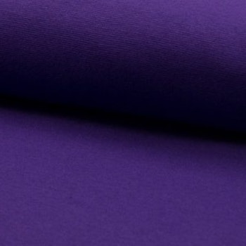 Rundstrikket Ribb - Purple