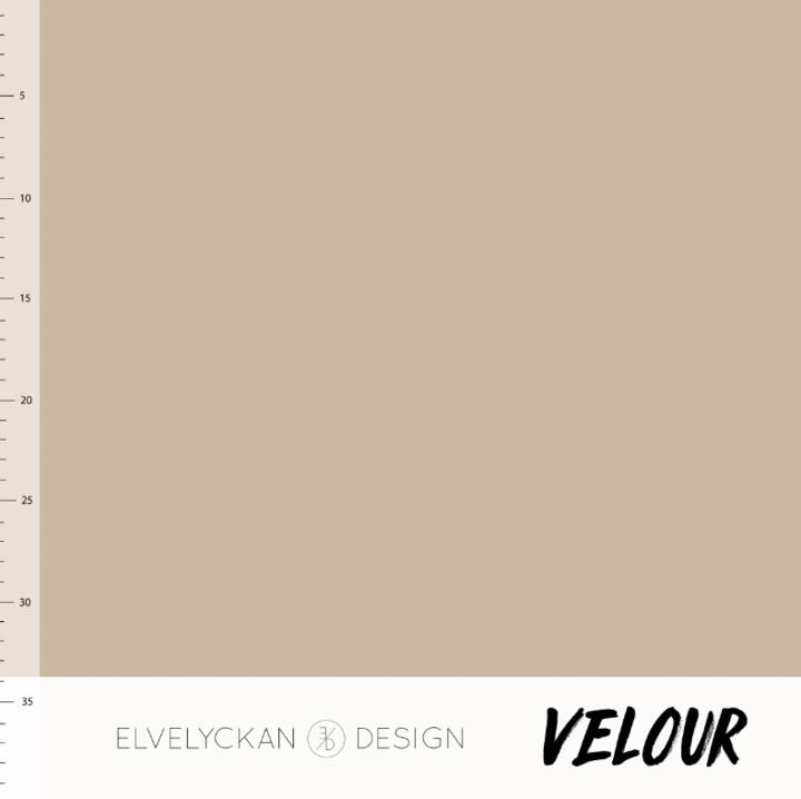 Elvelyckan Velour - Cappuccino