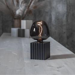 Lampfot BOX, svart, från Star trading
