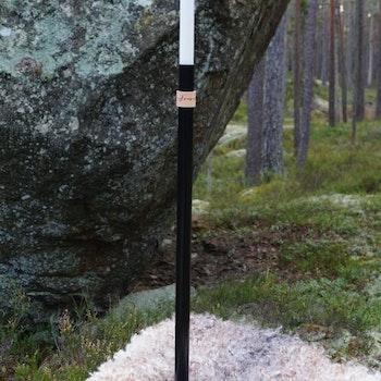 Handgjord Golvljusstake Svart Höge Herr'n 60cm