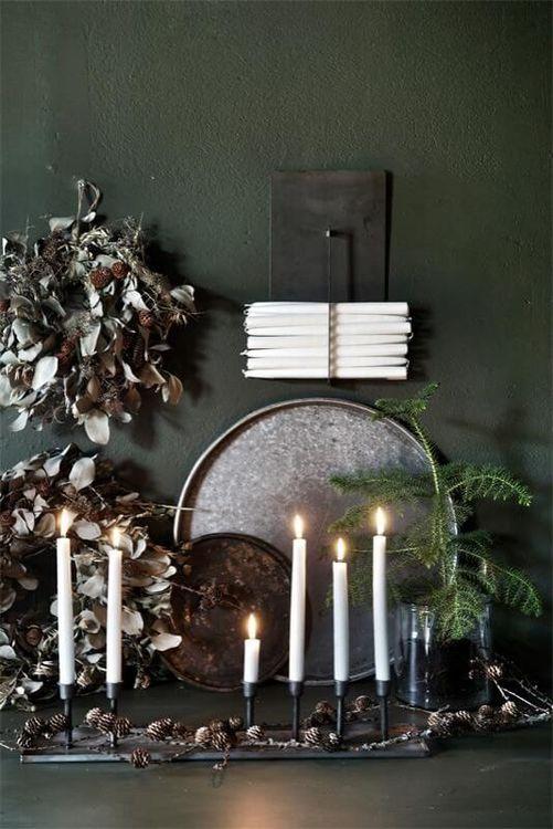 IAM Interior väggförvaring kronljus rustikljus