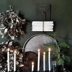 Väggförvaring för rustik- eller kronljus