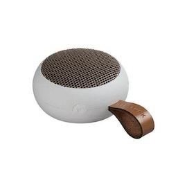 aGO, white/rose gold, Mini Bluetooth-högtalare