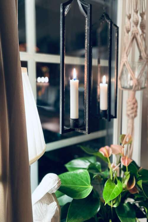 Hängande ljusstake från Stjernsund
