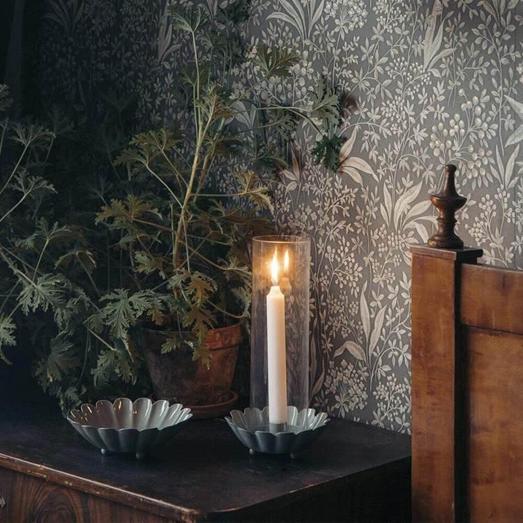 dekorativ ljusstake från strömshaga