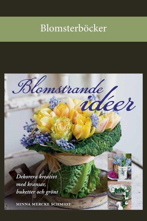 Blomsterverkstad > Blomsterböcker