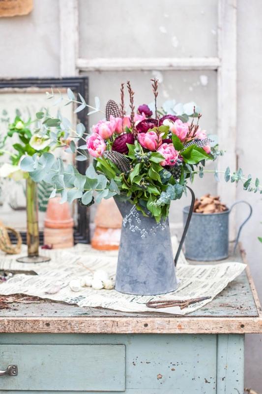 Tulpanens dag - gör buketter och arrangemang