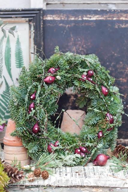 Tips på 5 olika julkransar att göra själv