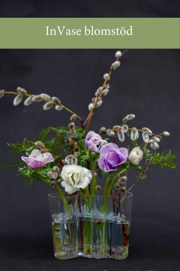 Blomsterverkstad > Invase blomstöd till bl a Iittalas Aaltovas