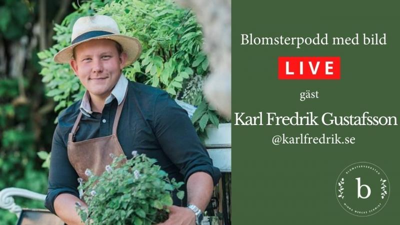 Imorgon måndag - live med Karl Fredrik på Eklaholm