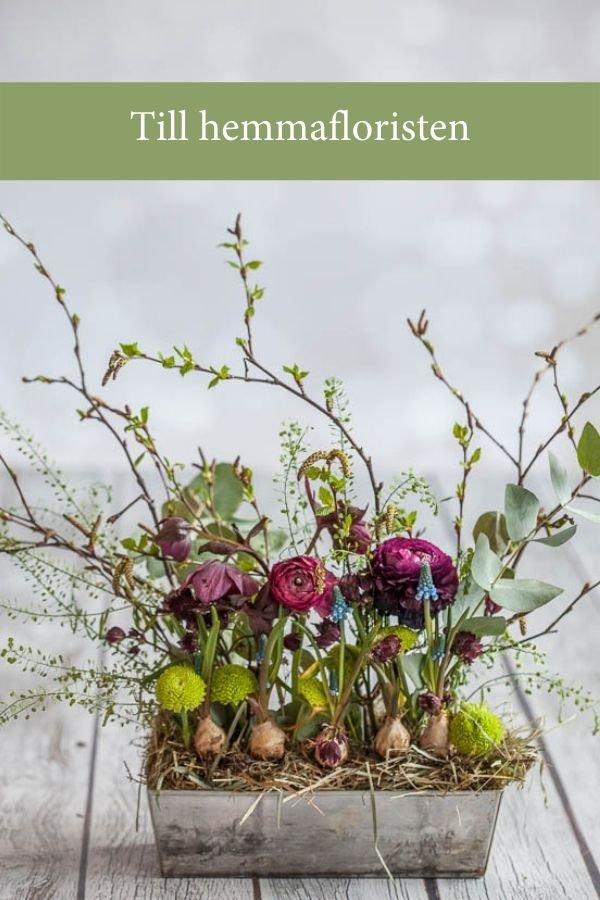 Till hemmafloristen - Blomsterverkstad