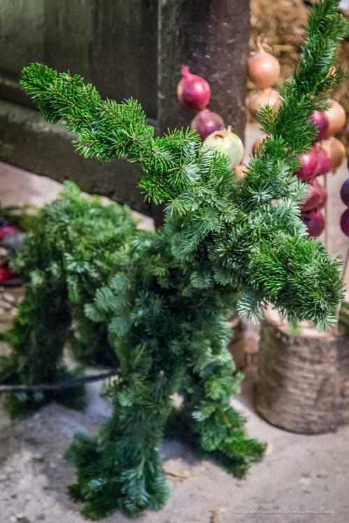 Julbock stor och liten  - materialkit
