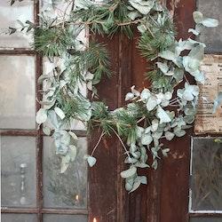 """Materialkit till julkrans """"Silver"""""""