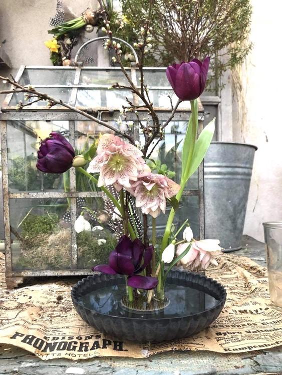 Kenzan blomsterfakir, stor