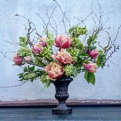 Pokal för blomsterarrangemang