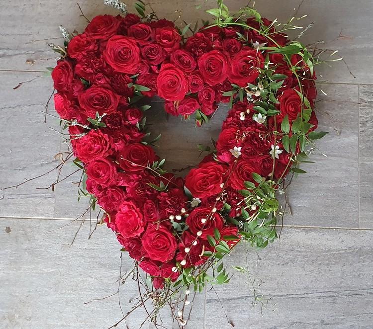 Kärlekshjärta vinter