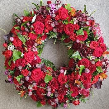 Vackert i rött