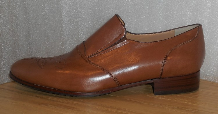 Ljusbrun loafer fabrikat Strafford