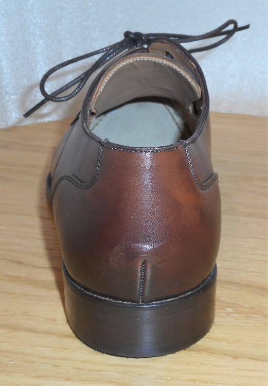 Brun snörsko med lädersula - fabrikat Umber
