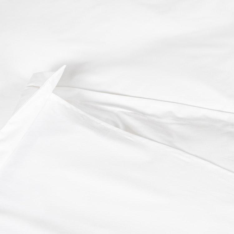 Exklusiva Påslakan & Örngott (Påslakanset) - Vitt  - 100% Bomull - 150x210cm/50x60cm - 300TC