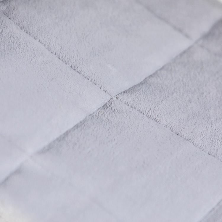 Exklusiv Tyngdfilt - 6kg - Fleece - 140x200cm - Grå