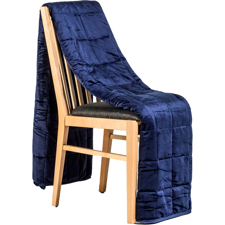 Exklusiv Tyngdfilt - 6kg - Minky - 140x200cm - Marinblå