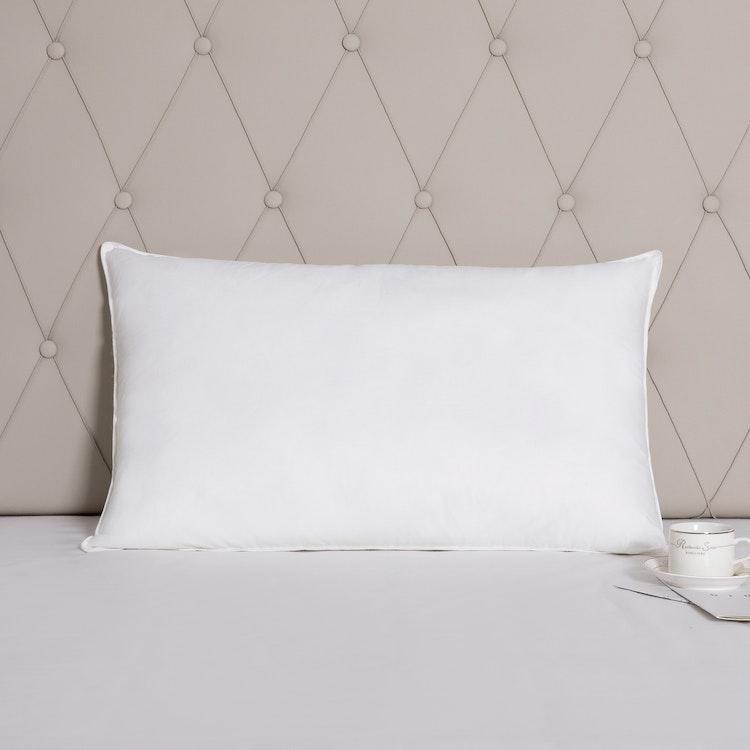 Exklusiv Hotellkudde - 50x90 cm - 233TC - Fiber - Bomull - 1200g