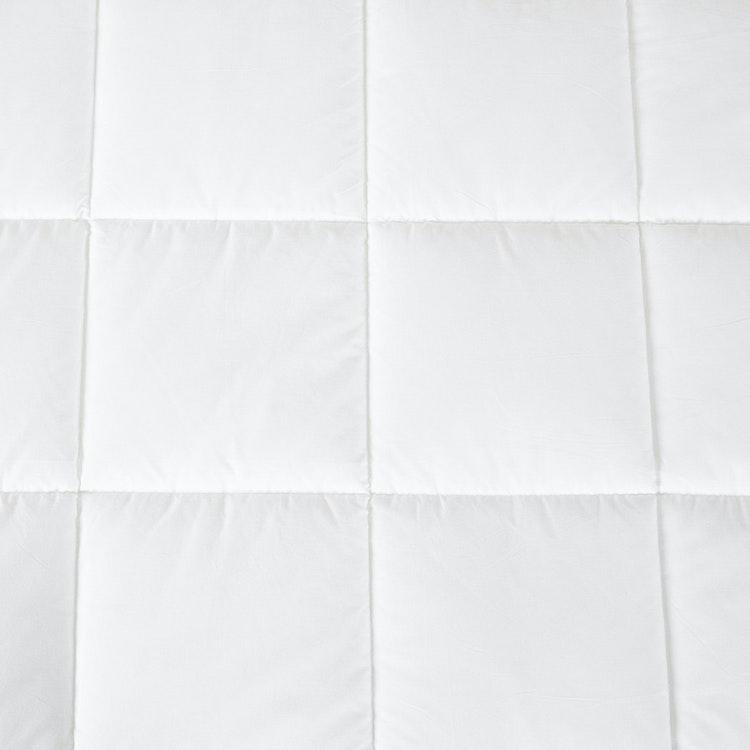 Madrasskydd - Vattentätt - 90x200 cm - Bomull - 200TC - Hålfiber - 375gsm - Vit