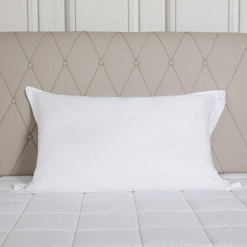 Örngott för Hotellkudde 50x90 cm- 100% Bambu - 300TC - Vitt